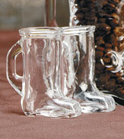 Mini Cowboy Boot Shot Glass for Wedding/Bridal Party Favors