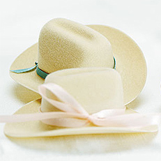 Miniature Cowboy Hats Wedding Favors