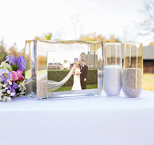 Mr Mrs Unity Sand Ceremony Photo Frame