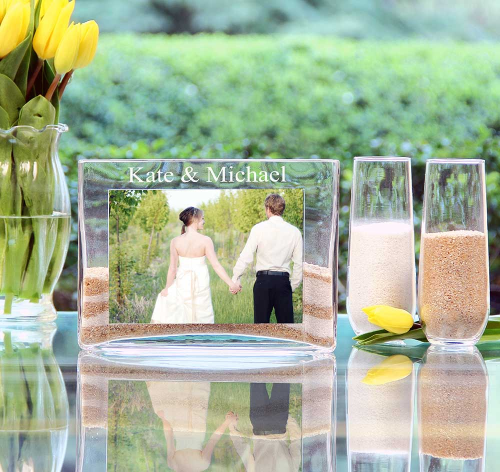 Sand ceremony picture frame unity sand ceremony frame more images reviewsmspy