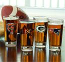 NFL Beer Glasses (Personalized) Groomsman Gift Wedding Party Gift