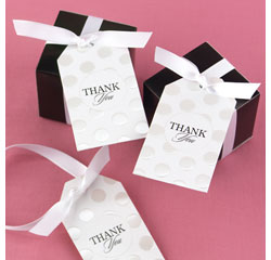 Pearl-Dotted Favor Cards