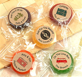 candy wedding favors candy favors