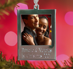 Personalized Holiday Christmas Photo Ornament