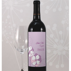 Poppy Wine Label