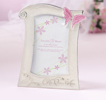 Quinceanera picture frame for Wholesale quinceanera craft supplies