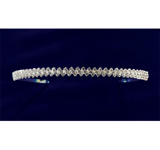 Rhinestone Wedding Head Band For Bride