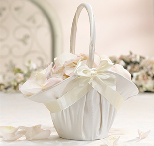 Large Flower Girl Baskets Large Flowergirl Baskets