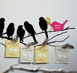 Seeded Love Bird Card