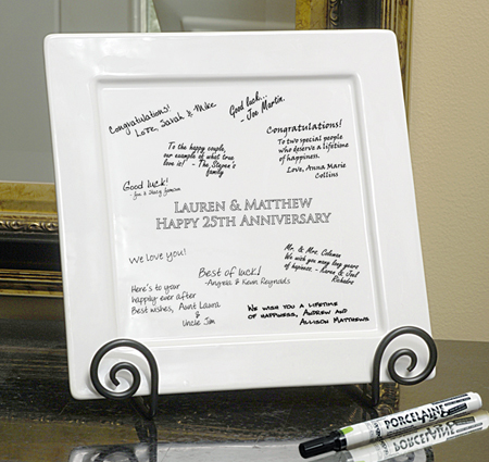 Wedding Outlet - Signature Platter and Pens