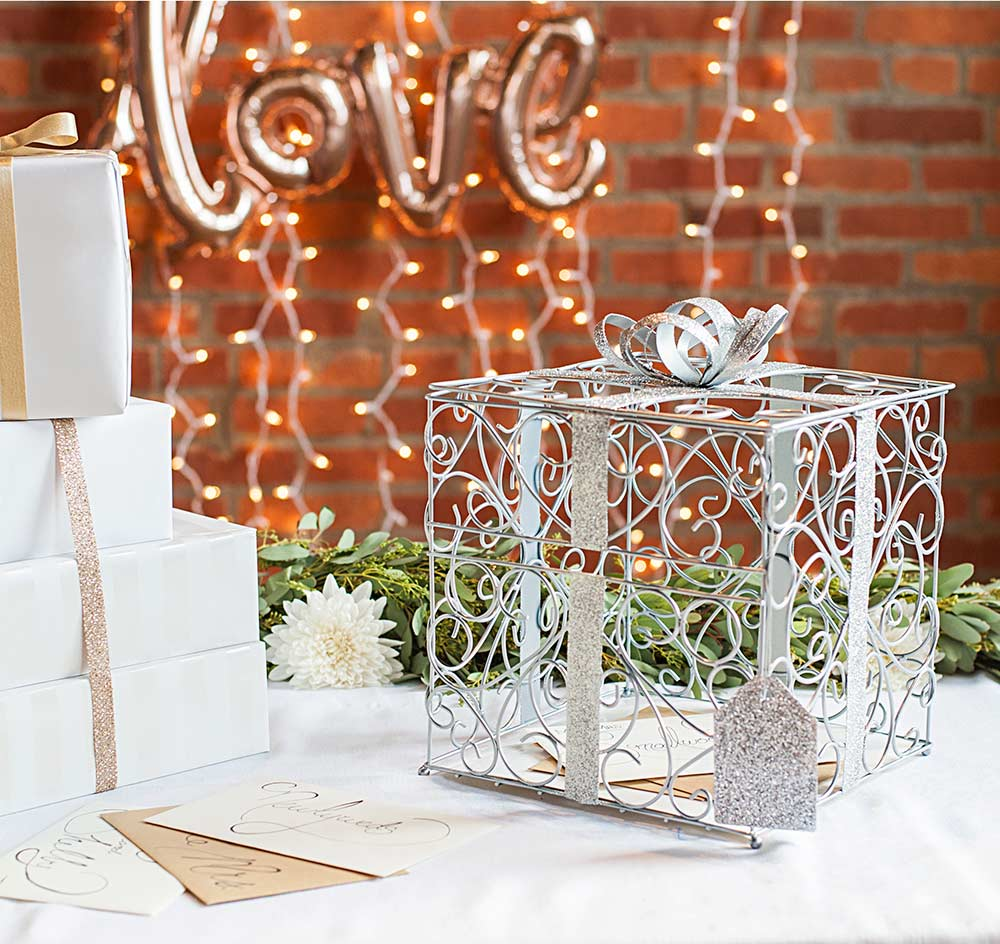 2001 2018 The Wedding Outlet 1225 Karl Ct Wauconda Il 60084 Silver Card Holder