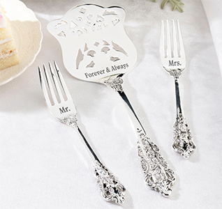 Silver-Server-and-Two-Forks-Mr-and-Mrs-m.jpg
