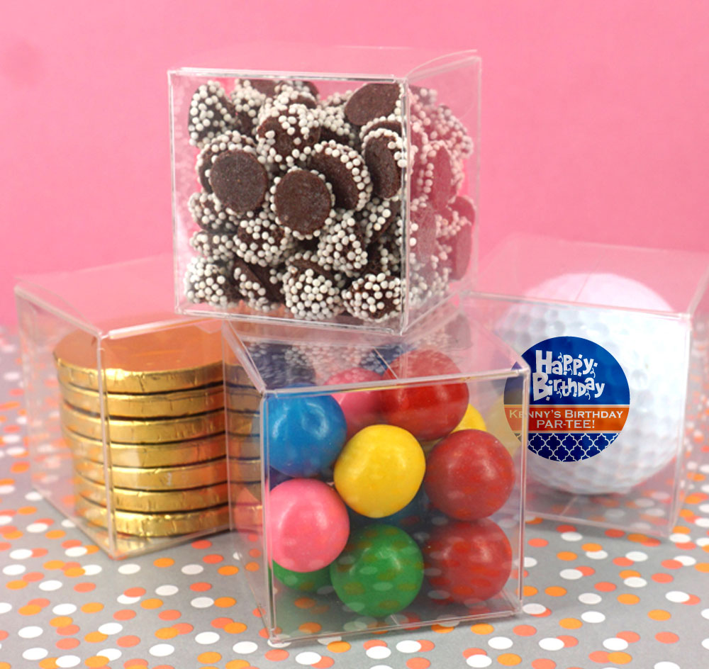 Single Golf Ball Favor Boxes | Wedding Favor Boxes
