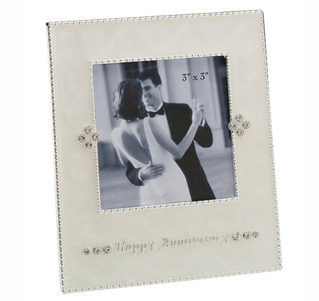 small happy anniversary frame