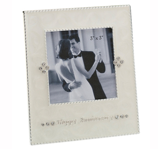 Small Happy Wedding Anniversary Picture Frame
