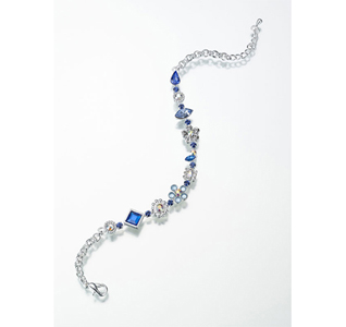 Something Blue Wedding Bride Anklet