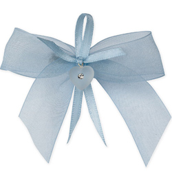 Something Blue For Wedding - Chiffon Bow