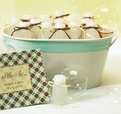 Standard Bottle Bubbles Wedding Favors