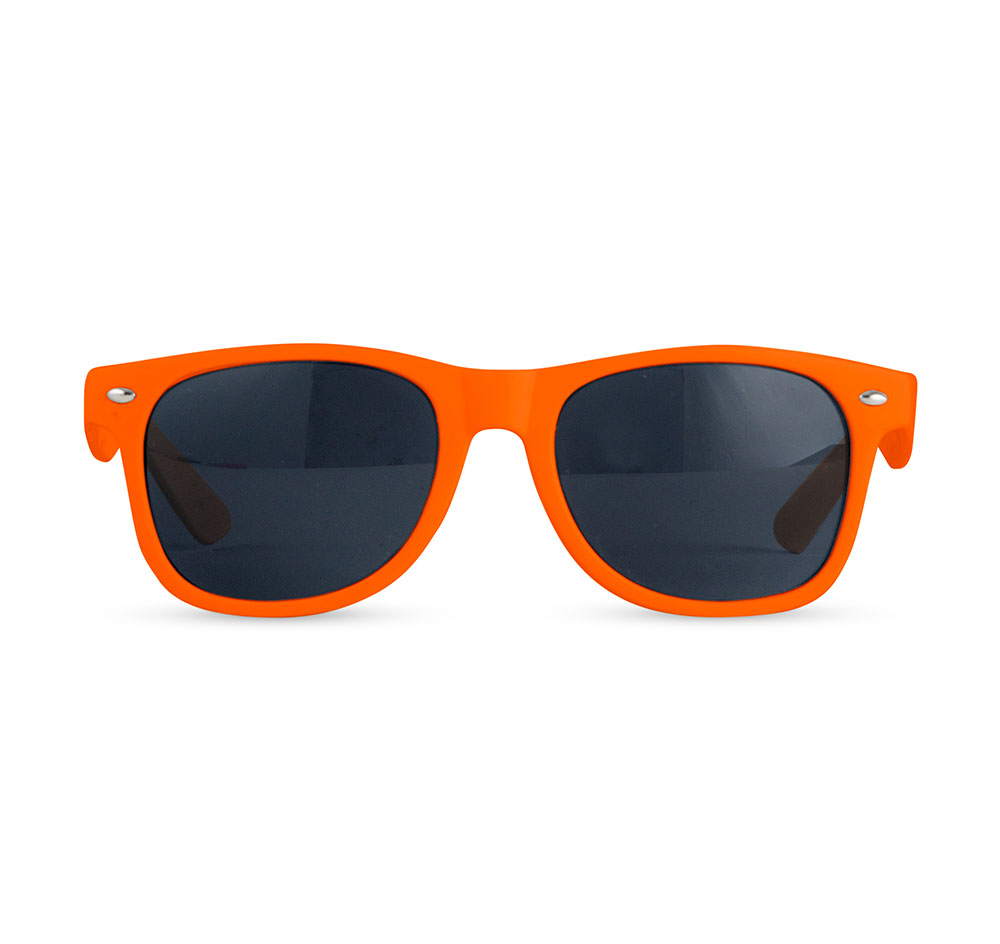 Orange Sunglass Wedding Favors | Wedding Sunglasses