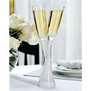 Personalized Wedding Vase and Toasting Flute Set