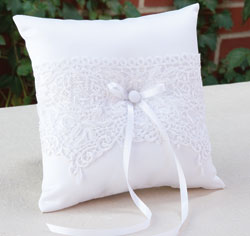 The Most Expensive Wedding Ring Lace Wedding Ring Pillow