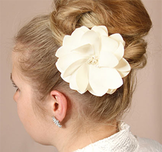 Water Lily Hair Piece