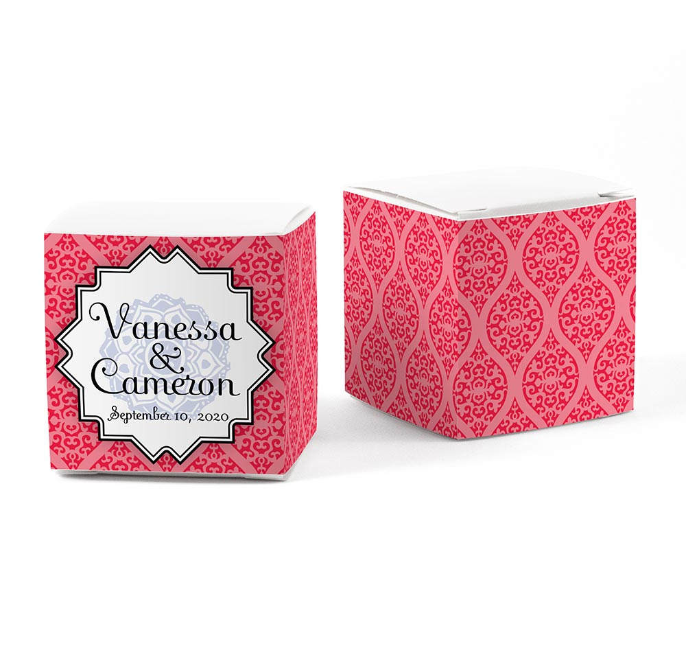 Moroccan Wedding Favor Wraps | Favor Box Wrap