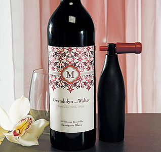 Wedding Wine Labels | Personalized Wine Labels