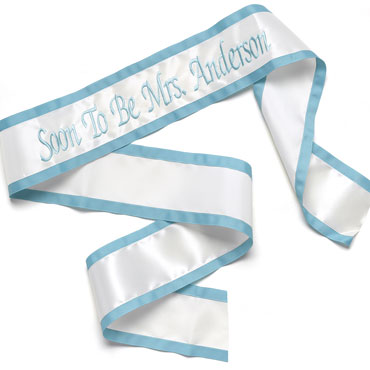 Wedding Party Sashes