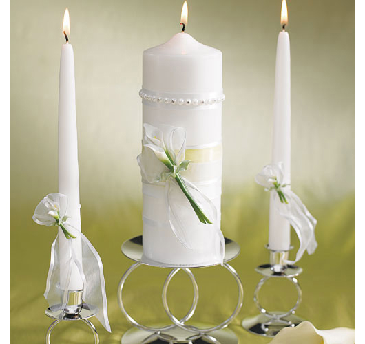 Calla Lily Unity Candle