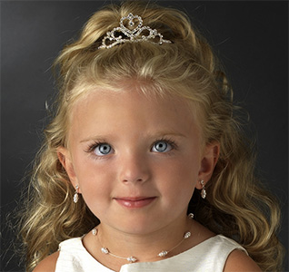 Flower Girl Tiaras and Headbands