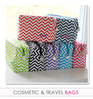 Bridesmaids Cosmetic & Travel Bags