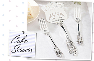 Wedding Cake Knive & Server Sets