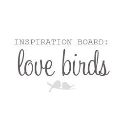 Love Bird Wedding Accessories