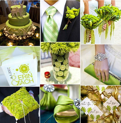 Green And Gold Wedding Theme Image Collections Decoration
