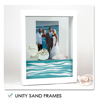 Sand Ceremony Picture Frames
