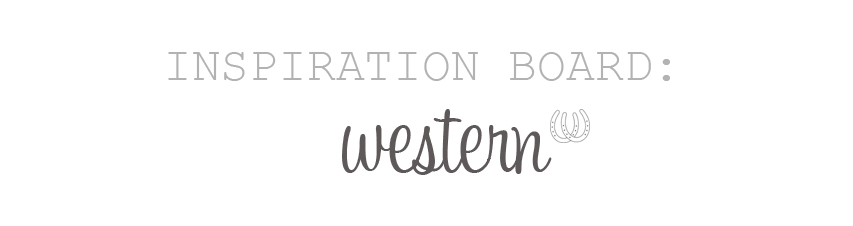 Western Wedding Accessories