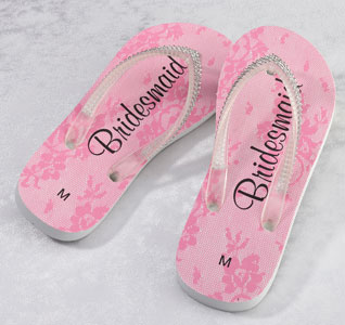 3111d37143c Bridesmaid Flip Flops