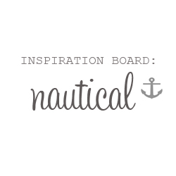 Nautical Nuptials Theme