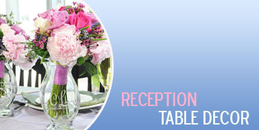 Wedding Table Decor | Wedding Table Decorations