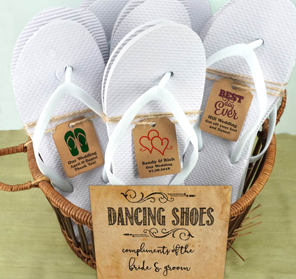 Reception Flip Flops | Wedding Flip Flops